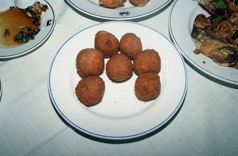 里芋の団子