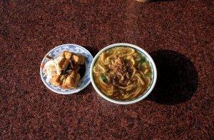 公園路大麺糠,佳賓蒸餃館など@台中屋台食べ歩き