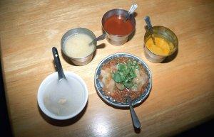 茂雄 蝦仁肉圓、阿端意麺、萬川號@台南屋台食べ歩き