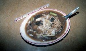 鱔魚麺@六合路夜市