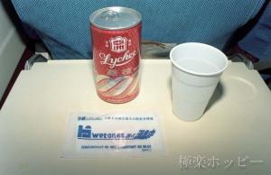ライチージュース@北京から瀋陽へ