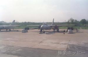 戦闘機@南京から上海へ