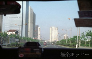 ホテルへ@南京から上海へ