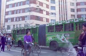 トロリーバス@上海ぶらぶら